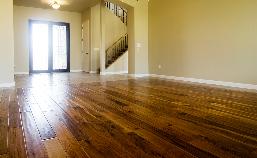 Sydney timber flooring in the living area