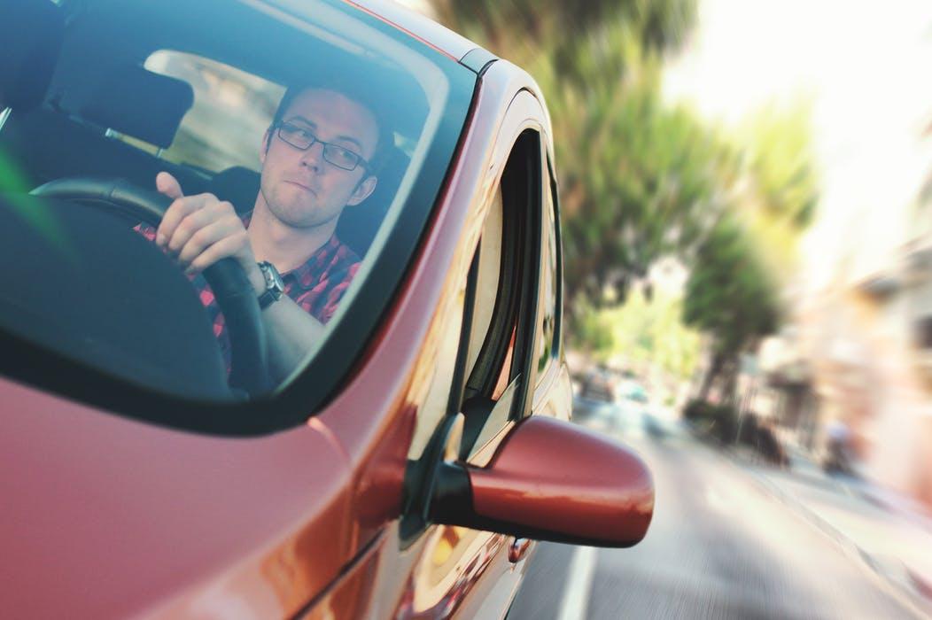 Man taking driver medicals