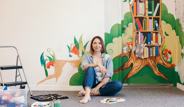 How To Become A Freelance Mural Painter