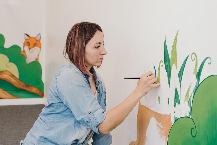 Freelance mural artist